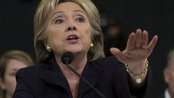 Hillary Clinton reklamierte vor dem US-Kongress eine starke und vorausschauende Aussenpolitik der USA.