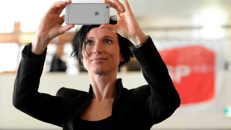 Am kantonalen Parteitag der SP Aargau im Januar wurde Pascale Bruderer als Ständeratskandidatin nominiert – wenn es um den Autobahn-Ausbau im Aargau geht, weicht sie aber nach rechts von der Parteilinie ab.