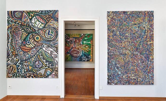 Die Werke von Tim Glanzmann erinnern an Grössen aus der Zeit des Expressionismus.