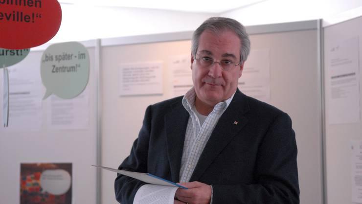 Stadtpräsident Boris Banga