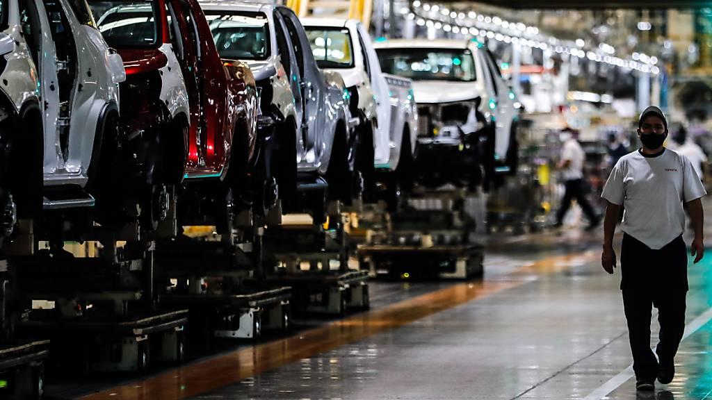 Toyota kappt Auslieferungsziel wegen Halbleiterknappheit