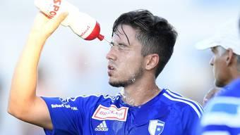 Eine kalte Dusche für Miguel Castroman und den FC Wohlen