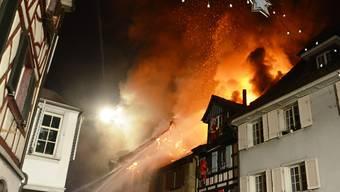 Der Grossbrand in der Altstadt von Steckborn war durch einen Akku ausgelöst worden.