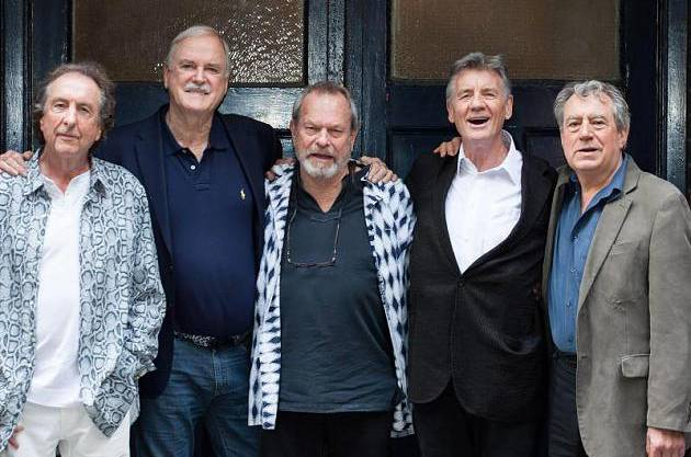 Eric Idle, John Cleese, Terry Gilliam, Michael Palin und Terry Jones.