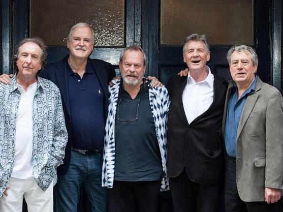 Eric Idle, John Cleese, Terry Gilliam, Michael Palin und Terry Jones.