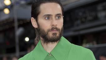 """Jared Leto spielt mit in der Comicverfilmung """"Suicide Squad"""", die am Wochenende die Spitze der Schweizer Kinocharts erobert hat. (Archivbild)"""