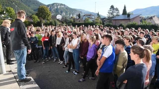 Evakuierungsübung an der Kreisschule in Balsthal