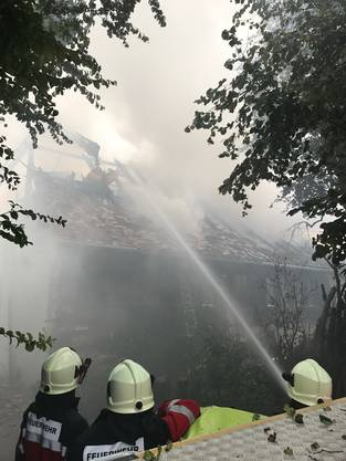 Das Feuer konnte rasch unter Kontrolle gebracht werden.