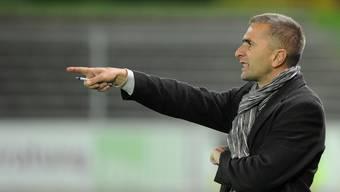Wohlen-Trainer Ranko Jakovljevic liess seinem Ärger freien Lauf. (Archivbild)