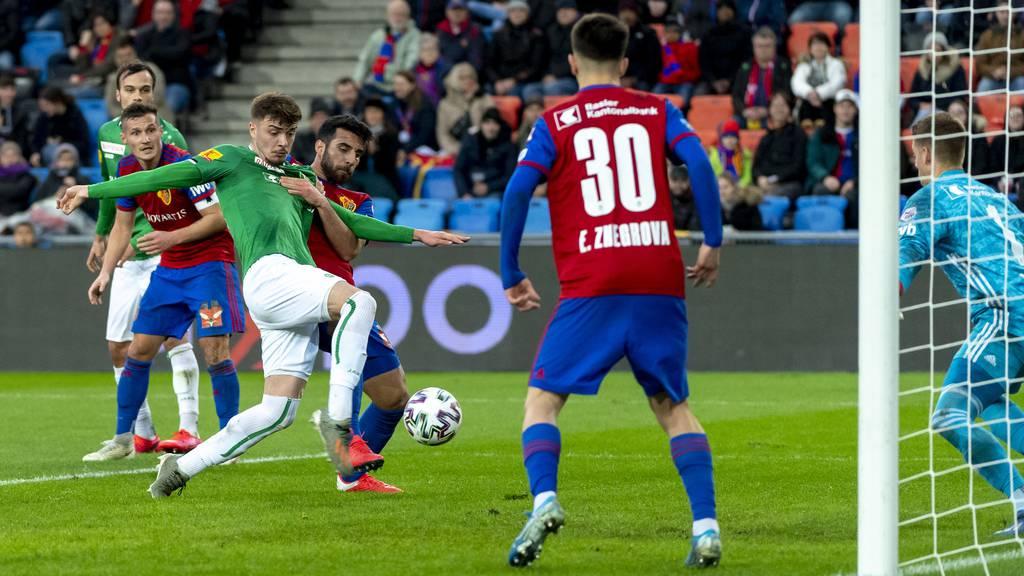 Neuer Tabellenführer: Der FCSG siegt 2:1 gegen Basel