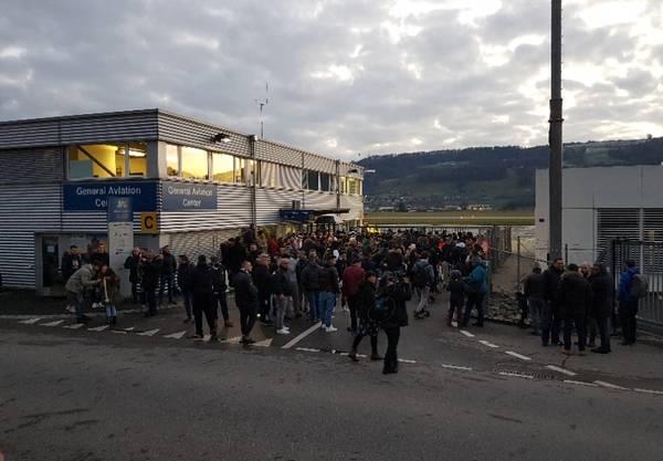 Viele Fans warten auf Ronaldo