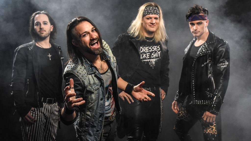 Rheintaler Rockband schafft es in die deutschen Metal-Charts