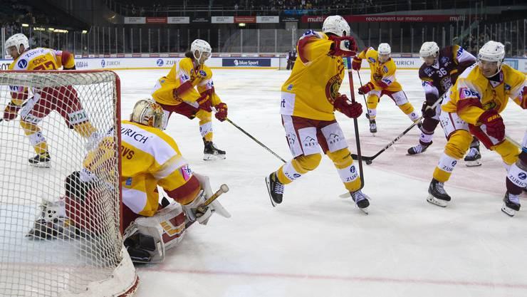 Die Schweizer Eishockey-Saison soll weitergehen, fordern die Präsidenten der National League Clubs.