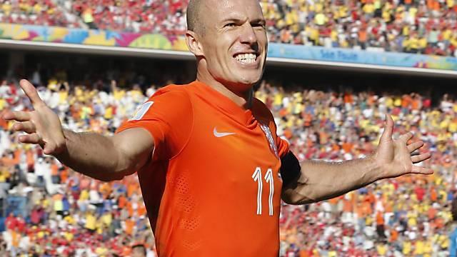 In der Form seines Lebens: Arjen Robben