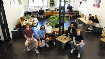 Das fünfköpfige Team des Vereins Xenon Baden will aus seinem Kreativcafé einen neuen Hotspot für die gesamte Region schaffen.