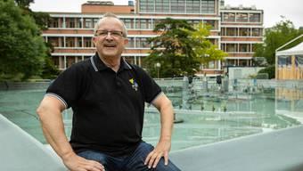 Rolf Wild, sein OK-Team und zahlreiche Helferinnen und Helfer engagierten sich dreieinhalb Jahre lang für das Gelingen des zehntägigen Stadtfests diesen Sommer. Bild: Chris Iseli