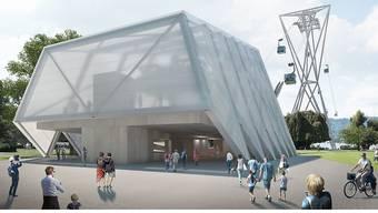 Die Bahn soll ab 2020 für fünf Jahre als Verbindung zwischen Landiwiese und Blatterwiese über den Zürichsee verkehren. (Archivbild)