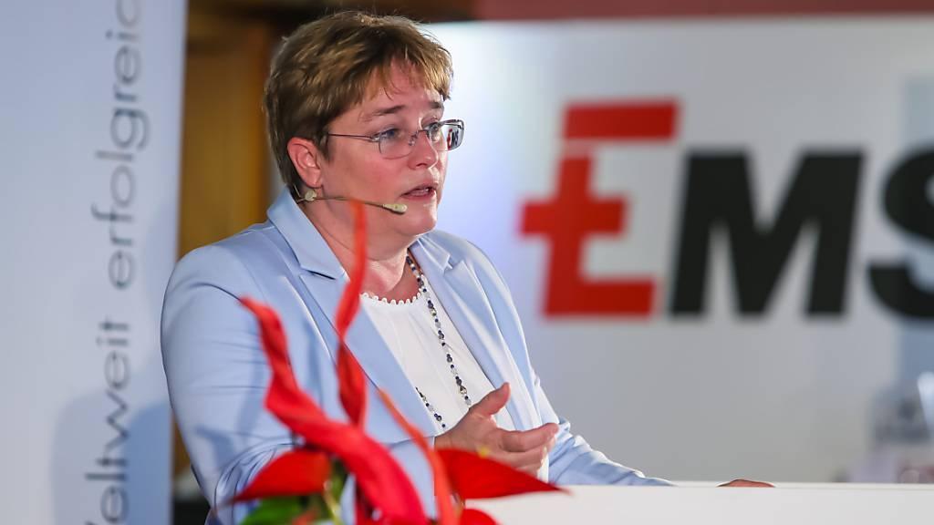 Magdalena Martullo-Blocher ist eine der wenigen Frauen an der Spitze eines grösseren Schweizer Unternehmens (Bild vom Juli 2020).