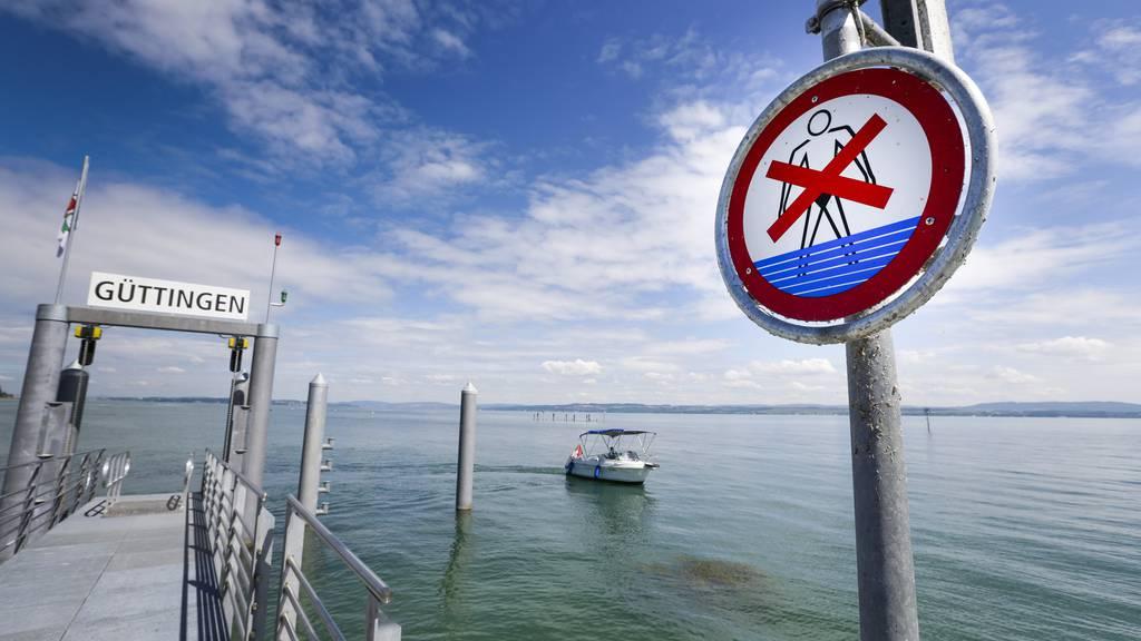 Die SBS verlangt, dass das Badeverbot streng eingehalten wird.