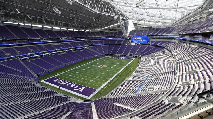 Das U.S. Bank Stadium von innen