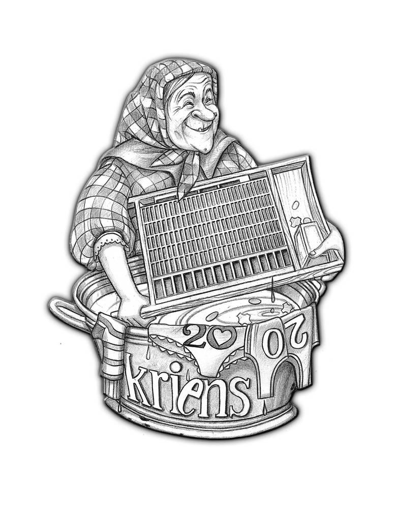 Die Krienser Fasnachtsplakette 2020