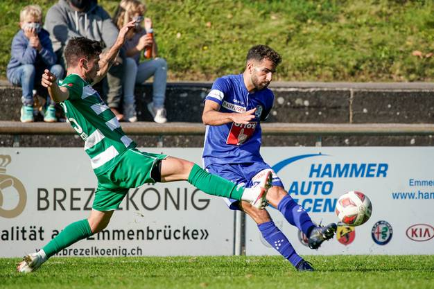 Sorgt für Druck über die Flügel: Varol Tasar (rechts) bereits im Trikot des FC Luzern.