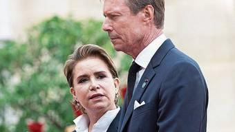 Grossherzog Henri und seine Frau Maria Teresa.