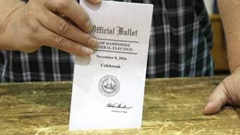 Das Clinton-Wahlkampfteam unterstützt eine Neuauszählung der Stimmen in drei US-Bundesstaaten. (Symbolbild)