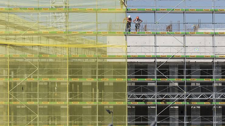 Das Überangebot an Mietwohnungen bietet  Anlass zur Sorge bei der Bauwirtschaft. (Archiv)