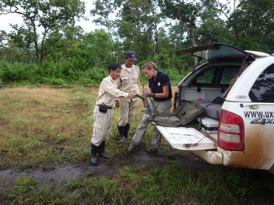 Einsatz in Laos.