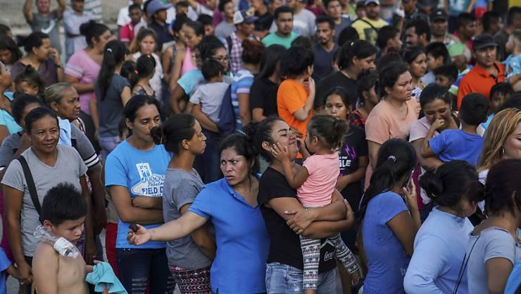 Tausende Migranten in Mexiko sind aufgrund der Coronavirus-Krise aus den Lagern in ihre Heimatländer zurückgekehrt. (Archivbild)
