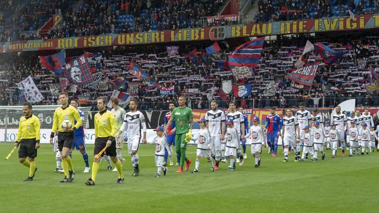 Die Fussball-Euphorie in Basel ist noch immer gross.