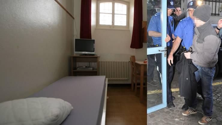 Zurzeit sitzt T. in der Strafanstalt Lenzburg.