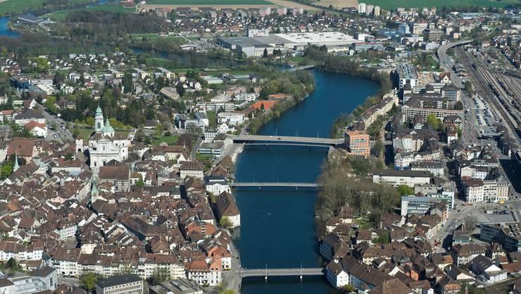 Fusionsprojekt «Solothurn Top 5» umfasst Solothurn, Zuchwil, Biberist, Luterbach und Derendingen.