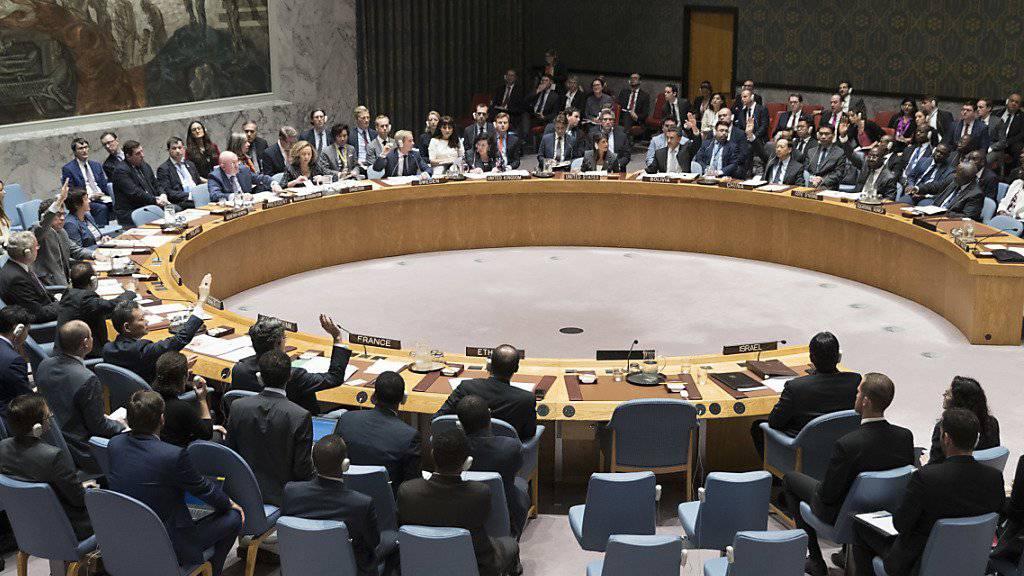 Der Uno-Sicherheitsrat will sich noch diese Woche erneut mit der Lage in Syrien beschäftigen. (Archivbild)
