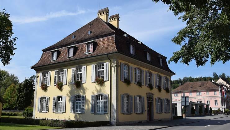 Das Brugger Stadthaus.  MHU/Archiv AZ