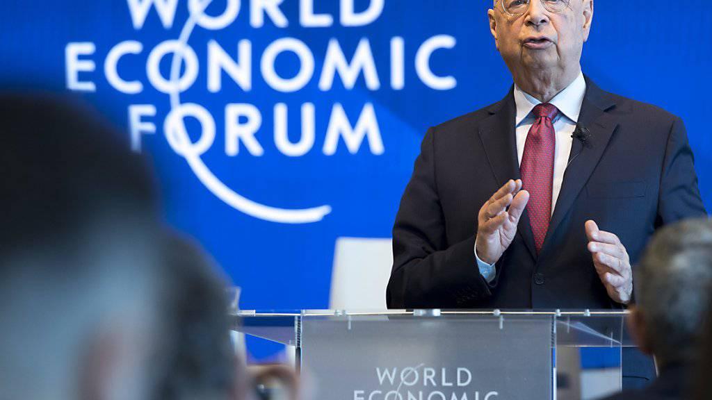 Weltwirtschaftsforum warnt vor vielen Risiken. (Archivbild)