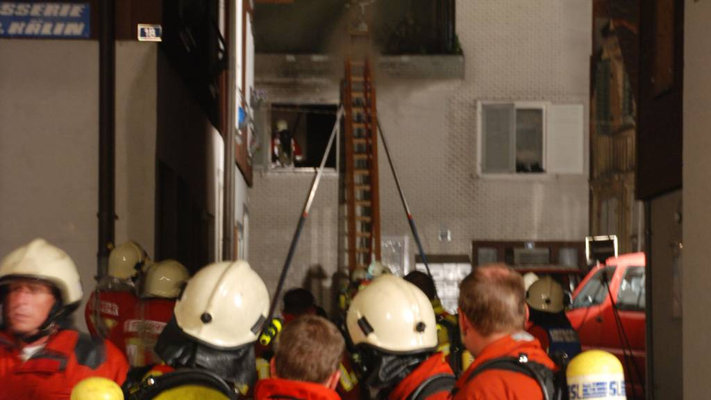 Brandursache geklärt - Brennende Kerze