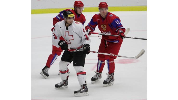 Phil Baltisberger gegen die russische Übermacht.