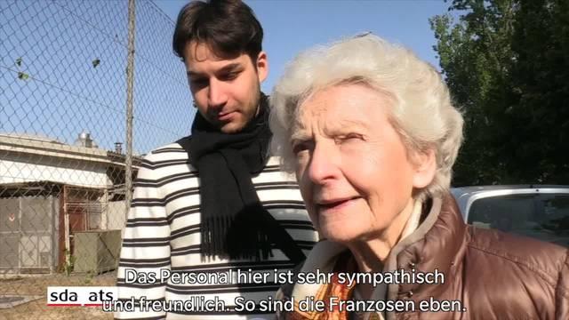 Frankreichs Präsidentschaftswahlen: Impressionen vom ersten Wahlgang in der Schweiz