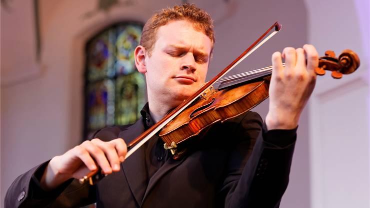 «Ich möchte nur noch Stücke aufnehmen, die zu mir passen», sagt der Geiger Sebastian Bohren. André Albrecht