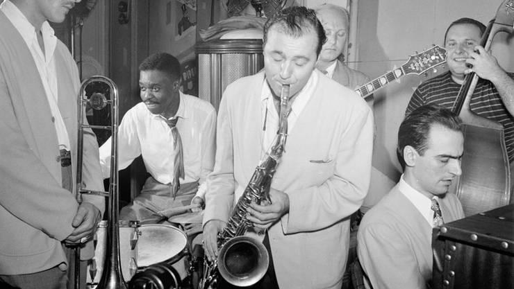 Lennie Tristano (unten rechts) war mehr als der Begründer des Cool Jazz.