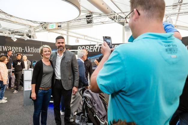 Promis wie der ehemalige Schweizer-Nati-Goalie Pascal Zuberbühler sorgten für einen Besucheraufmarsch.