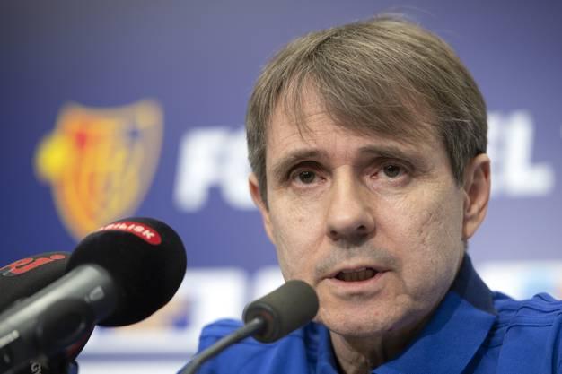 FCB-Präsident Bernhard Burgener zum Rücktritt von Marco Streller: «Es wird einen neuen Sportchef geben, soviel kann ich sagen. Zur Zeit ist Roland Heri Leiter einer Task Force, in der auch Remo Gaugler und andere Mitarbeitenden mitwirken.»