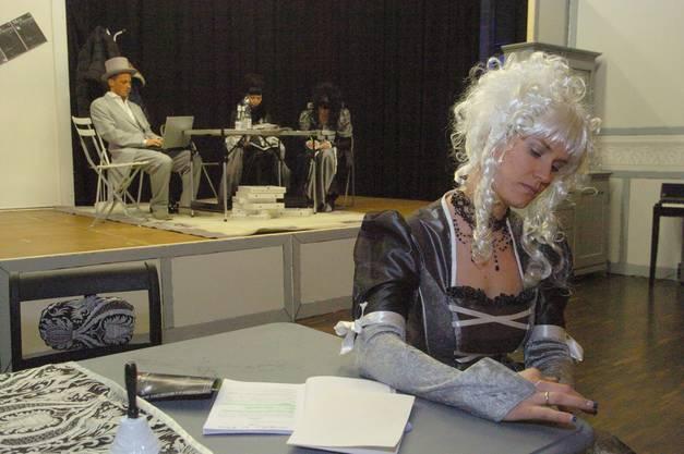 Das Stück «Mord on Backstage» stammt von einem Theater-Verlag.