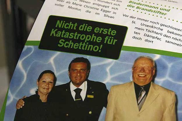 «Postheiri»: Auf Du und Du mit il capitano...