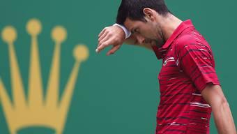 Novak Djokovic verliert in Schanghai gegen die Griechen Stefanos Tsitsipas