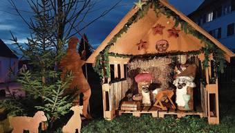 Die Wichtelhäuschen von Wolfwil sind dieses Jahr zum letzten Mal zu sehen. Nächstes Jahr gibt es eine Weihnachtsbeleuchtung.