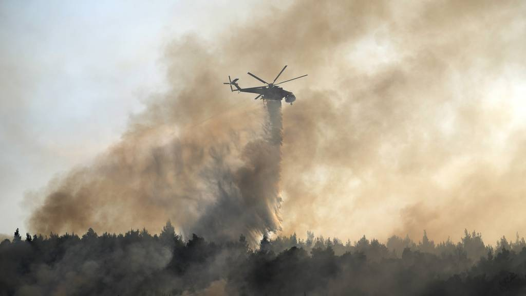 Ostschweizerin in Griechenland: «Wir haben enorme Angst vor Waldbränden»