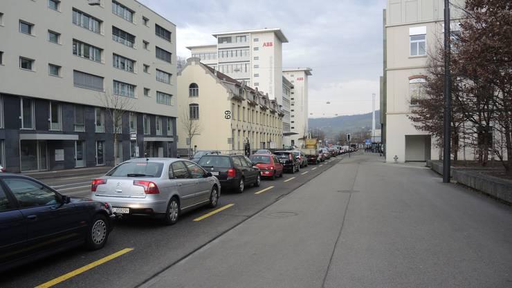 Stau in Baden: Schuld ist eine Grossfahndung der Polizei.